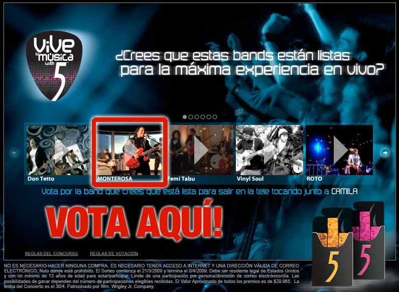 Viva La Musica! Developing a music promotion for bilingual Hispanics