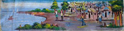Haitian Seaside Painting