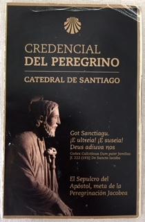 Credencial Passport Santiago de Compostela