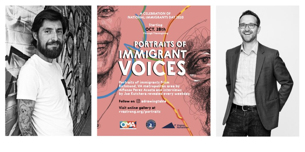 Portraits of Immigrant Voices: A Celebration of National Immigrants Day